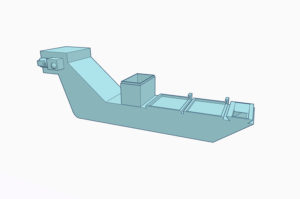 Scraper & Hinge Type Conveyor with Rotary Filter Unit